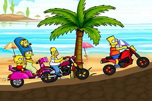 辛普森一家骑摩托