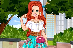 我的时尚迷笛裙