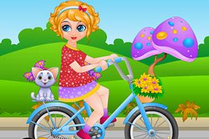 莎娜自行车事故