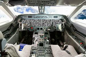 商务飞机逃脱