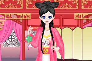 中国公主装扮记