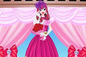 灰姑娘的婚礼装扮