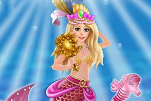 狂欢节美人鱼装扮