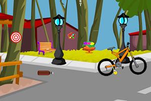 解锁自行车逃脱