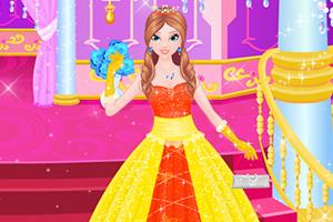 华贵的公主装扮