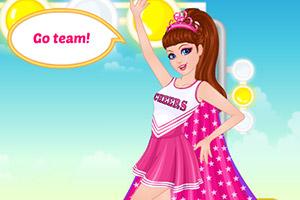 芭比变身啦啦队长