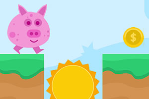 奔跑的小猪