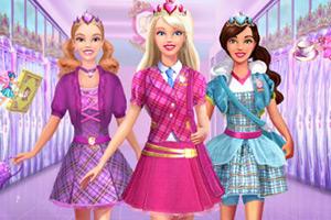 芭比公主的校服