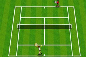 少年骇客打网球