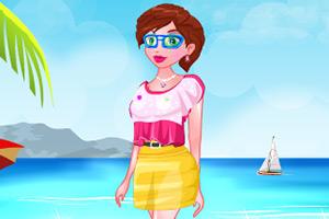 夏日沙滩装扮