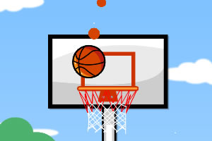 完美下落的篮球