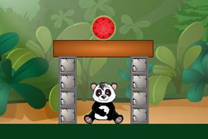 熊猫吃西瓜