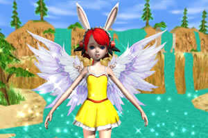 可爱女孩3D换装