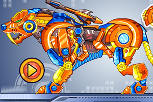 Robot Zoo Toy Tiger