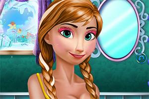 安娜华丽的化妆术