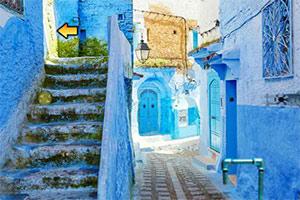 蓝色城镇逃脱