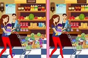 超级市场找不同