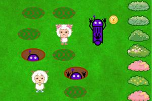 喜羊羊与美羊羊躲避机器人