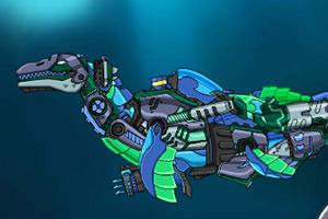 组装机械鱼龙