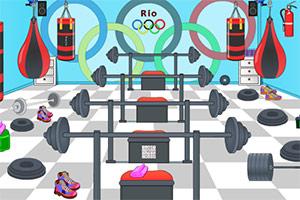奥运会训练室逃脱