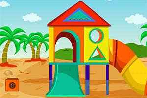 沙滩游乐场逃脱