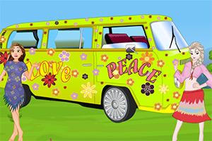 公主清洗汽车