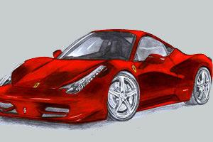 法拉利458汽车拼图