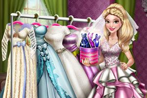 莫娜的婚纱