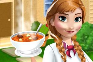 安娜做西葫芦汤