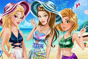 夏日度假的公主