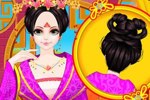 中国公主古代发型设计