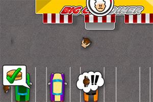经营汽车汉堡餐厅