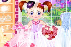 黛德公主穿婚纱