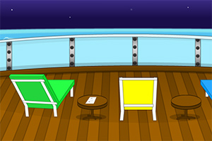 夜晚甲板逃脱