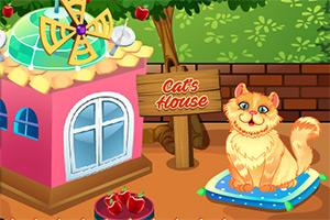 布置小猫家园