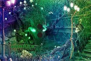 神秘诡异森林逃脱