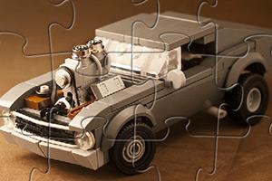 乐高玩具赛车拼图