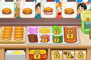 汉堡小小店