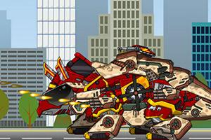 组装机械消防装甲龙
