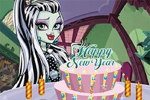怪物高的新年蛋糕