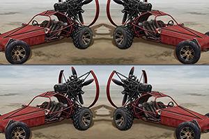 沙漠赛车找不同