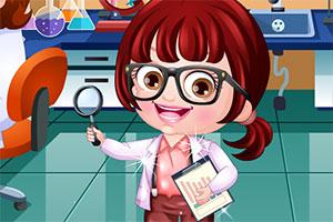 可爱宝贝当科学家
