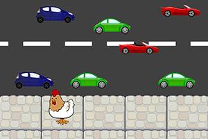 公鸡过马路