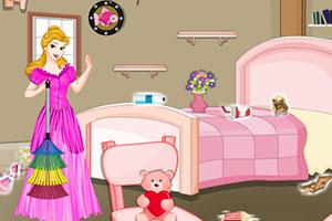 公主打扫房子