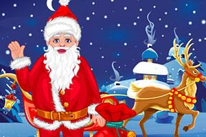 制作圣诞老人的新衣