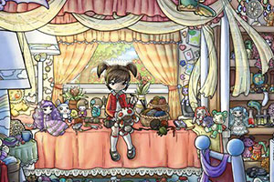 小女孩和巫毒娃娃中文版