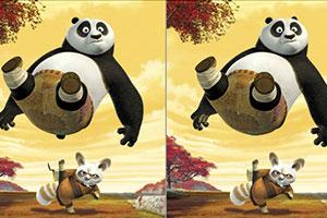 功夫熊猫找差异
