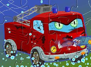 可怕的消防车