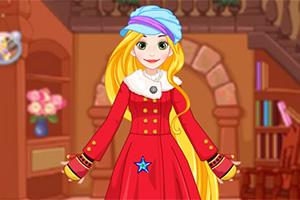 给公主制作冬季大衣