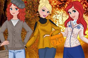 公主们的冬装毛衣